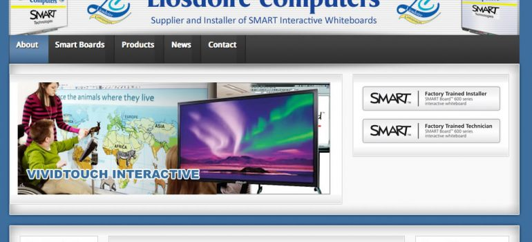 liosdoire website screengrab