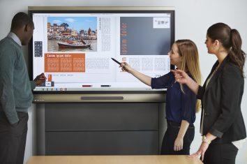 SMART Board 8055i interactive lat panel